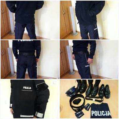 mundur policyjny kompletny
