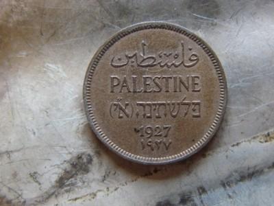 1 mil 1927 Palestyna (50P)