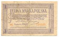 1 marka polska 1919 PC