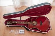Yamaha APX 900 Crimson Red Burst stan BDB + CASE