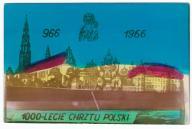 1000-lecie Chrztu Polski - pamiątkowa fotokarta