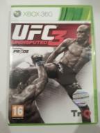 UFC 3 UNDISPUTED XBOX 360 SKLEP