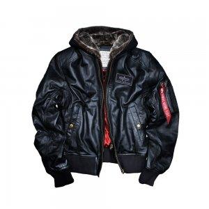 kurtka skórzana ma-1 d-tec leather alpha industries
