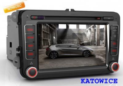 RADIO SAMOCHODOWE NAWIGACJA 2 DIN GPS BT SKODA VW