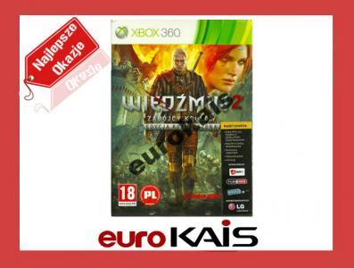 GRA XBOX 360 WIEDŹMIN 2  PL EDYCJA ROZSZERZONA DVD