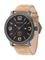Timberland Men's Quartz Watch with Black Dial Anal