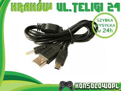 Kabel danych i ładowania do PSP 1000 2000 3000