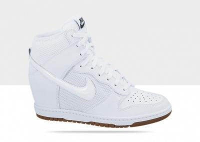 brak podatku od sprzedaży niska cena sprzedaży tak tanio Nike Dunk Sky Hi r.37,5 białe adidasy na koturnie