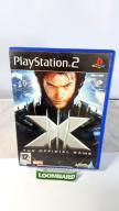 GRA PS2 X-MEN THE OFFICIAL GAME ANG