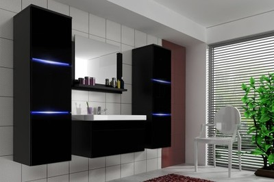 Komplet Mebli Do łazienki Lumia Mat Z Lustrem 5714714819