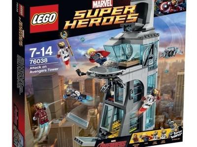 Lego 76038 At At At Atak Na Wieżę Avengers At At At Marvel 6992715367