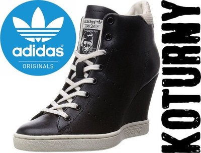 Buty damskie ADIDAS STAN SMITH UP 40,5 41 42 KOTURN KOTURNA