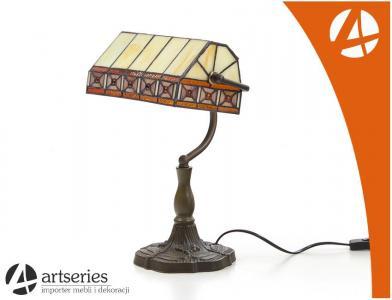 Biurowa Lampa Witrażowa Lampka Stylowa Na Biurko 5735204987