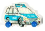 Wieszak Drewniany Dla Dziecka HESS 2 Haki Policja