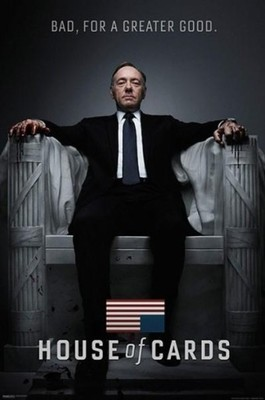 House Of Cards Kevin Spacey Plakat 61x91 5 Cm 6698070499 Oficjalne Archiwum Allegro