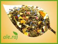 * Herbata zielona POMARAŃCZOWA ENERGIA mango guava