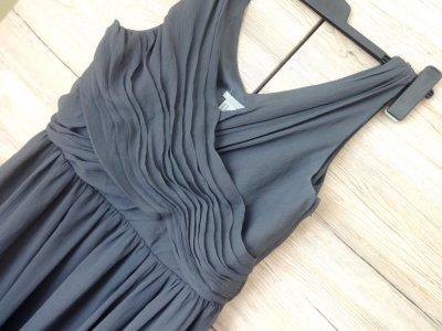 76ae032eb0 sukienka szara H M XL 42 44 zwiewna - 6239644293 - oficjalne ...