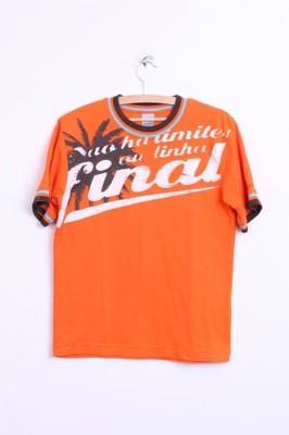 Nike koszulka męska pomarańczowa M