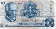 NORWEGIA   10 KR     1979  B1A