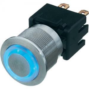 PRZYCISK, PRZEŁĄCZNIK Aluminiowy 250 V 12 A LED