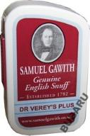 TABAKA SAMUEL GAWITH DR VEREY`S PLUS - 10g