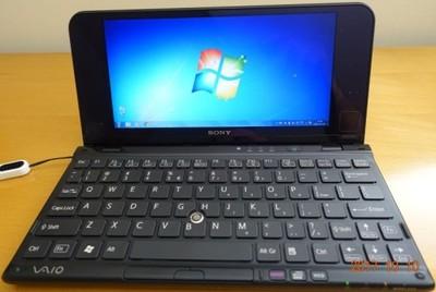 Sony Vaio P Vpcp11s1e 8 Czarny 6996456060 Oficjalne Archiwum Allegro