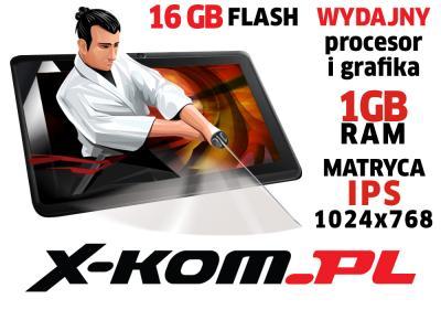 Tablet SHIRU Samurai 10 2x1.6GHz 16GB IPS Android