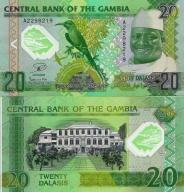 # GAMBIA - 20 DALASIS - 2014 - P-NEW - UNC POLIMER