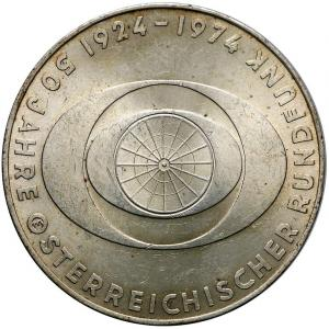 1515. Austria, 50 szylingów 1974, st.1/1-