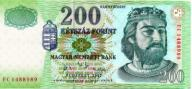 Węgry 200 Forint 2007 P-187g