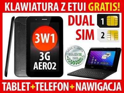 TABLET TELEFON OVERMAX SOLUTION 7 3G AERO2 +KLAW