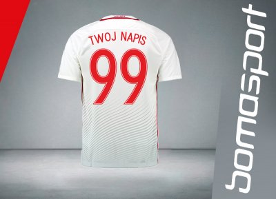 f4651b2ad0d9 EURO 2016 Koszulka NIKE POLSKA TWÓJ NAPIS rozm M - 6153722216 ...