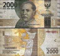 # INDONEZJA - 2000 RUPII - 2016 -P-NEW - UNC