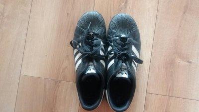 buty adidas superstar czarne 40