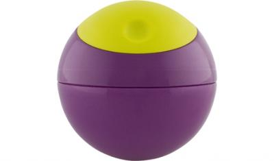 Pojemnik Snack Ball Boon - Green/Purple