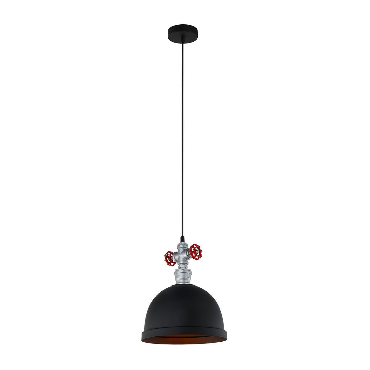 Lampa wisząca MOKKA MDM2859/1BK  - Italux