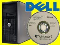 DELL 755 TOWER C2D 2X2330 4GB 80 DVD WIN 7 PRO PL
