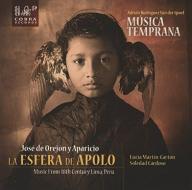 Musica Temprana La Esfera De Apolo Music From 18th