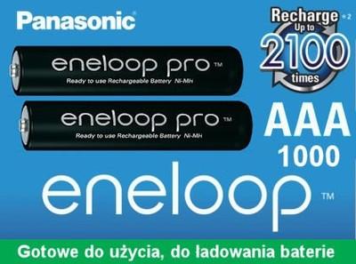 AKUMULATORKI ENELOOP PRO 950mAh AAA R03 HCDE JAPAN