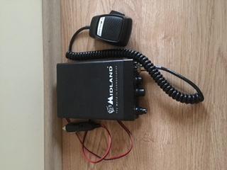 CB radio Midland Alan 109 + antena President 50 cm
