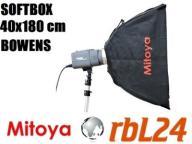 Softbox Mitoya 40x180 cm Bowens Kraków