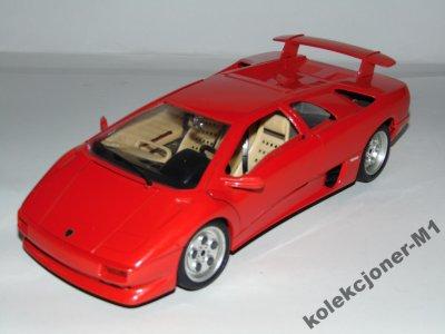 Bburago Lamborghini Diablo 1990 Skala 1 18