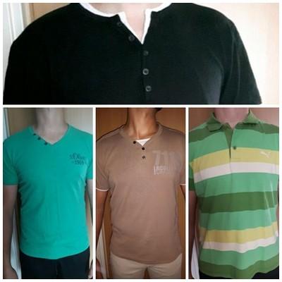 Zestaw koszulek na lato L/XL, Reserved, Puma,