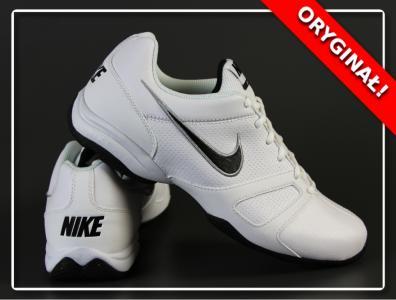 Nike Air Affect V 488100 107 | Biały, Czerwony ⋆ ButyMarkowe.pl