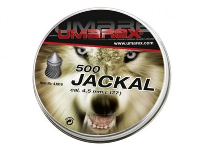 ŚRUT Umarex Jackal Pointed Ribbed 4.5 mm 500szt