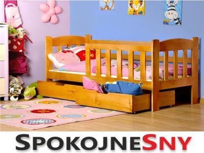 łóżka Dziecięce łóżko Pojedyńcze Tedi Spokojne Sny