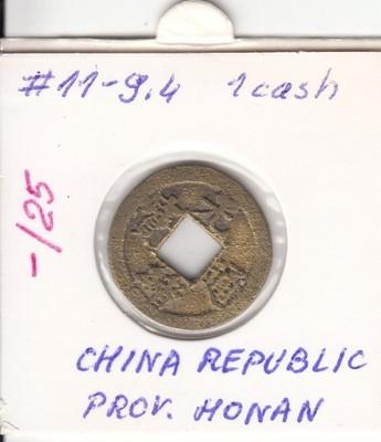 Chiny Honan 1 cash ND (1875-1908) C# 11-9.4