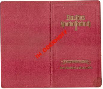 Beuthen O/S/Sparbuch 1943-44.r.Stron 14
