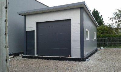 Garaż Z Płyty Warstwowej 6472640908 Oficjalne Archiwum Allegro