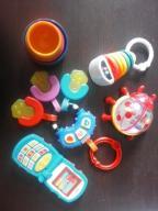 zestaw zabawek dla niemowlaka